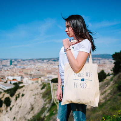 Trotti sacs Tote Bag Natural parce que Le Sud