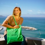 Trotti Accessoire Tote Bag Marseille Light Green
